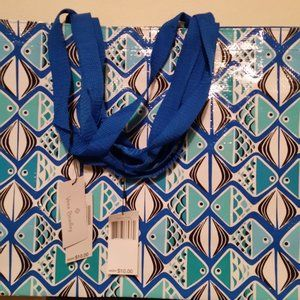 NWT Vera Bradley market tote (Go Fish Blue) 3 bags